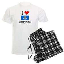 I Love Meriden Connecticut Pajamas