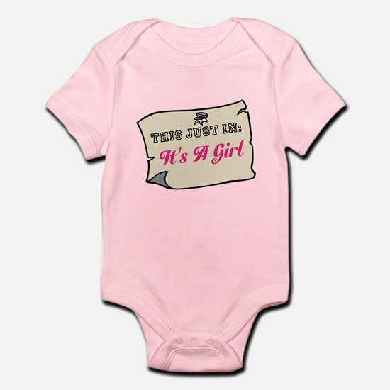 Its A Girl Body Suit