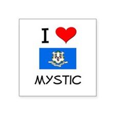 I Love Mystic Connecticut Sticker
