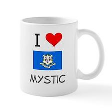 I Love Mystic Connecticut Mugs
