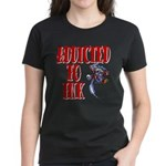 Addicted to Ink Women's Dark T-Shirt