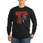 Addicted to Ink Long Sleeve Dark T-Shirt