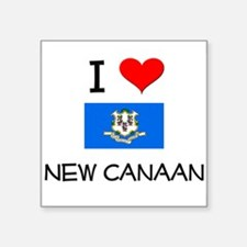 I Love New Canaan Connecticut Sticker