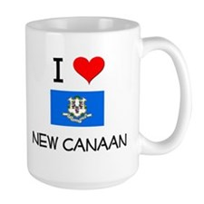 I Love New Canaan Connecticut Mugs
