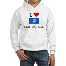 I Love New Fairfield Connecticut Hoodie