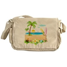 Surfs Up Messenger Bag