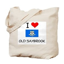 I Love Old Saybrook Connecticut Tote Bag