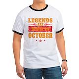 October funny Ringer T