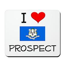 I Love Prospect Connecticut Mousepad