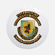 DUI - 134th Military Intelligence Bn w Text Orname