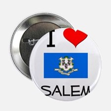 "I Love Salem Connecticut 2.25"" Button"