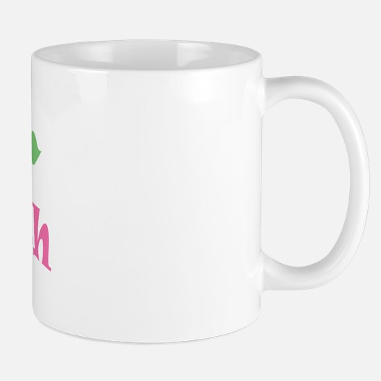 "Pink Daisy - ""Faith"" Mug"