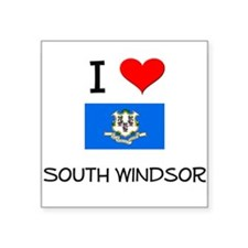 I Love South Windsor Connecticut Sticker