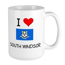 I Love South Windsor Connecticut Mugs