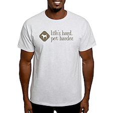 Parson Russell Terrier Ash Grey T-Shirt