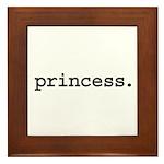 princess. Framed Tile