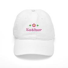 "Pink Daisy - ""Esther"" Baseball Cap"