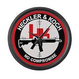 Heckler and koch Giant Clocks
