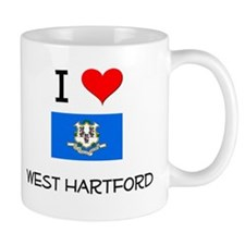 I Love West Hartford Connecticut Mugs