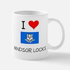 I Love Windsor Locks Connecticut Mugs