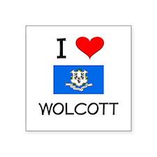 I Love Wolcott Connecticut Sticker