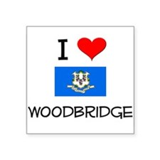 I Love Woodbridge Connecticut Sticker