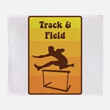 Track and Field Throw Blanket