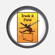 Track and Field Wall Clock