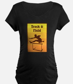 Track and Field Maternity T-Shirt