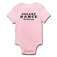 Square Dance My Therapy Infant Bodysuit