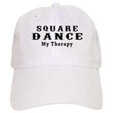 Square Dance My Therapy Baseball Cap