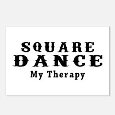 Square Dance My Therapy Postcards (Package of 8)