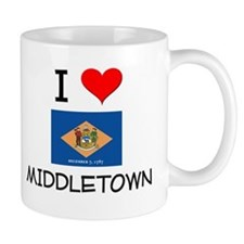 I Love MIDDLETOWN Delaware Mugs