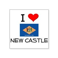 I Love NEW CASTLE Delaware Sticker