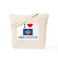 I Love NEW CASTLE Delaware Tote Bag