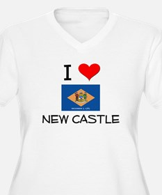 I Love NEW CASTLE Delaware Plus Size T-Shirt