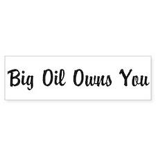 Cool Big oil Car Sticker