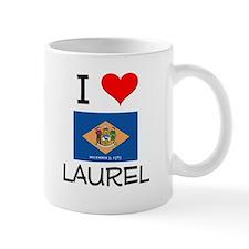 I Love LAUREL Delaware Mugs