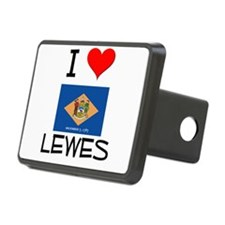 I Love LEWES Delaware Hitch Cover
