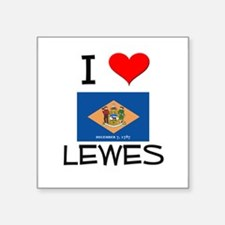 I Love LEWES Delaware Sticker