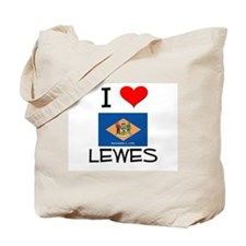 I Love LEWES Delaware Tote Bag