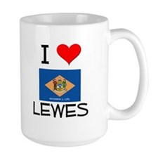 I Love LEWES Delaware Mugs
