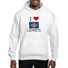 I Love LEWES Delaware Hoodie