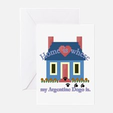 Argentine Dogo Greeting Cards (Pk of 10)