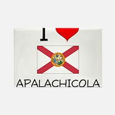 I Love APALACHICOLA Florida Magnets