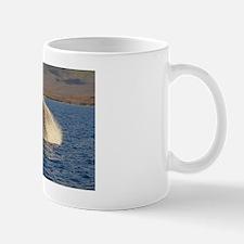 Humback Whale breach Mug