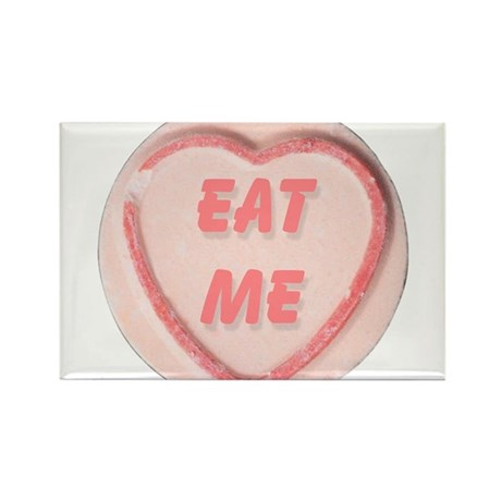 Eat Me Candy Rectangle Magnet