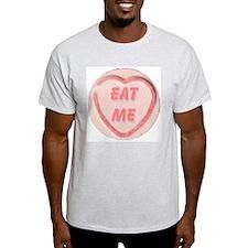 Eat Me Candy Ash Grey T-Shirt