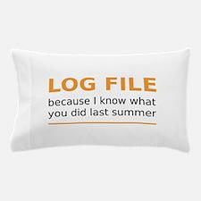 LogFILE Pillow Case