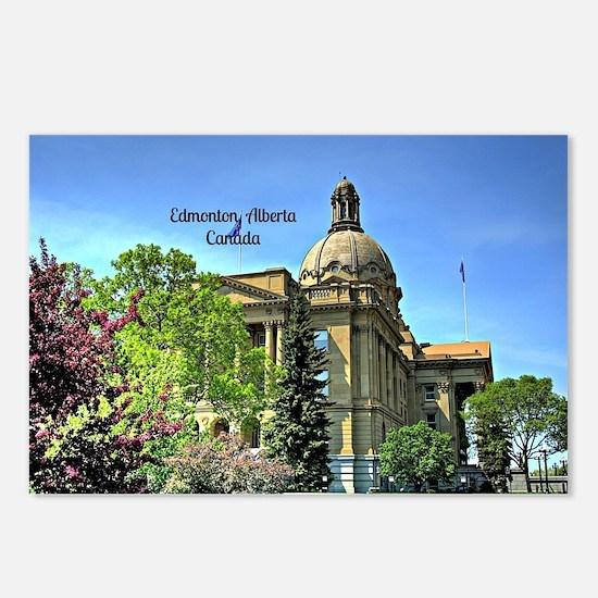 Edmonton, Alberta, Canada Postcards (Package of 8)